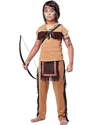 California Costumes Native American Brave Child Costume, Large