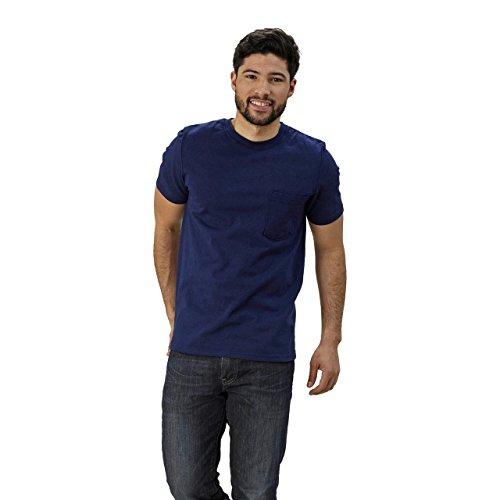 Goodwear Adult Short Sleeve Crew Neck w/Pocket Classic Fit