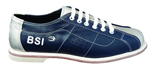 (BSI Men's Rental Shoes, Blue/Silver,)