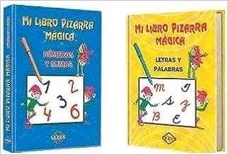 Mi Libro Pizarra Magica. 2 Tomos + 2 Plumones. El Precio Es ...