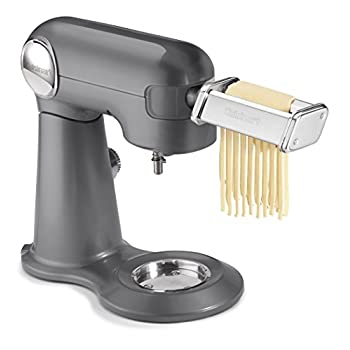 Image of Home and Kitchen Cuisinart PRS-50 Pasta Roller & Cutter Attachment, Stainless Steel