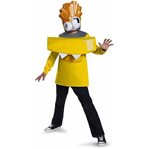 [Mixels Electroid Volectro Lego Cartoon Network Costume Size Small (6)] (Mixel Costumes)