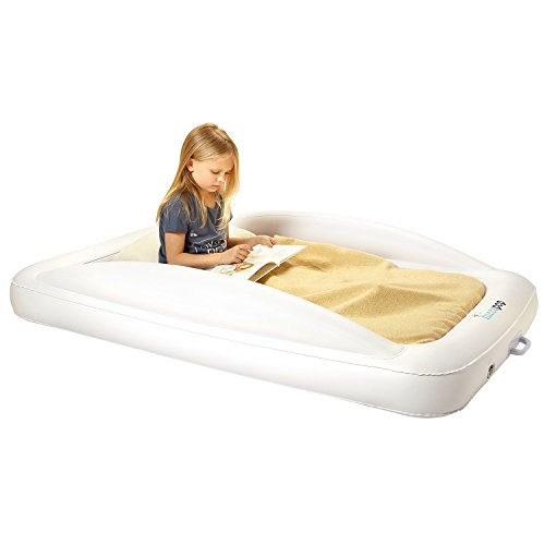 Hiccapop Inflatable Toddler Travel Bed With Safety Bumpers