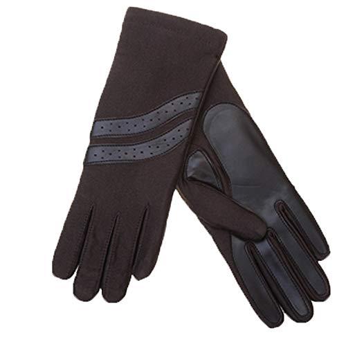 裏地付で二枚手袋 MST1107
