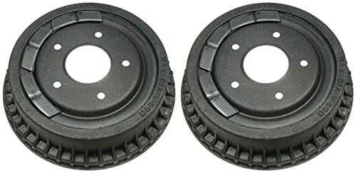 Rear Brake Drums Pair Set for Chevy Pontiac GMC Buick Olds Pickup Truck ()