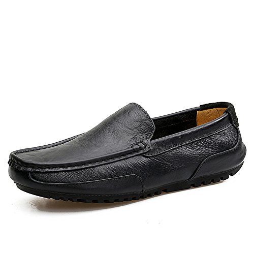 f58c638da1461e Bradleybla 2018 Summer Loafers Men Casual Shoes Boat Genuine Leather  Moccasins Flat Male Luxury Slip-