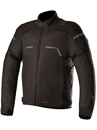 Alpinestars Hyper DRYSTAR All-Weather Sport Motorcycle Riding Jacket (Large, Black)
