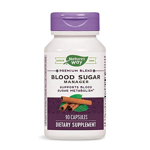 - Natures Way Blood Sugar with Gymnema Capsule, 381 Mg - 90 per pack - 3 packs per case.