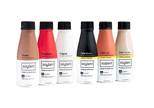 Soylent Meal Replacement Shake, 6 Flavor Variety Pack (Pack of 36) (Packaging May Vary) by Soylent Beverages (Image #3)