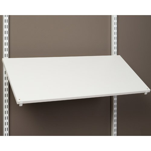 Pre Drilled Shoe Shelf - SKB family Pre-Drilled Shoe Shelf - White, 24