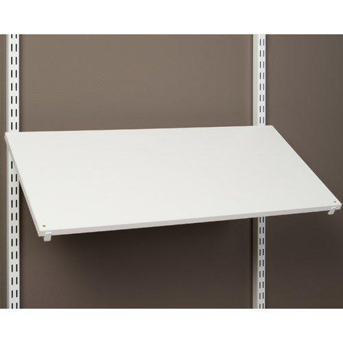 SKB family Pre-Drilled Shoe Shelf - White, 24