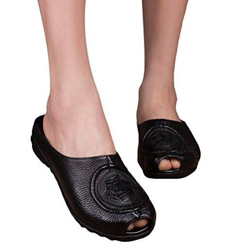 MatchLife - zapatos y pantuflas mujer Style3-Black