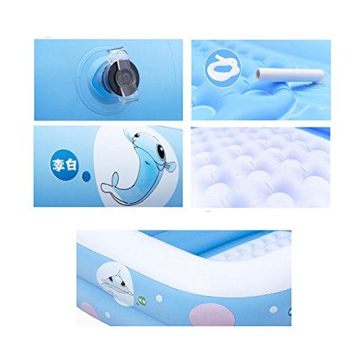 Inflatable Baby Bathtub Home Swimming Pool Bath Bath Baby Baby Moisture Insulation Thicker by Dccer (Image #1)