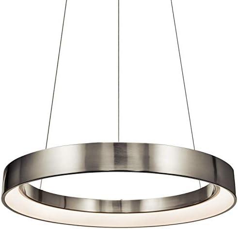 Elan 83261 Pendant Lighting, Brushed Nickel