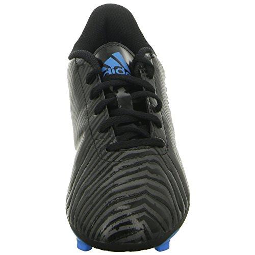 Chicos Niños adidas Taquiro Fútbol Botas En acolchado de Adifit negro tobillo-Zebra