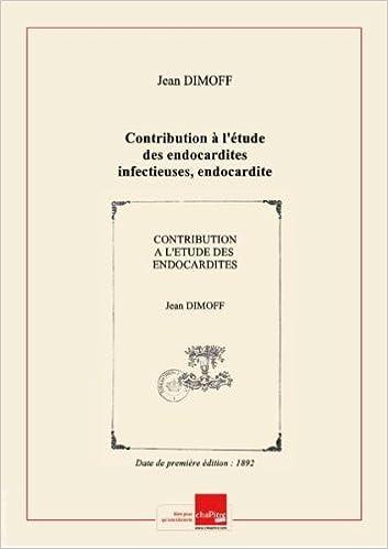 Amazon.fr - Contribution à l'étude des endocardites ...