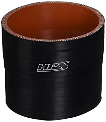 HPS HTSR-325-350-BLUE Silicone High Temperature 4-ply Reinforced Reducer Coupler Hose 40 PSI Maximum Pressure 3 Length Blue 3 Length 3-1//4  3-1//2 ID HPS Silicone Hoses 3-1//4  3-1//2 ID