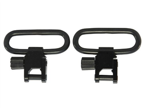 Ultimate Arms Gear Set of Two Swivels Attach Locks to Stud Adapter + Sling, Black Benelli 12/20 Gauge by Ultimate Arms Gear (Image #1)
