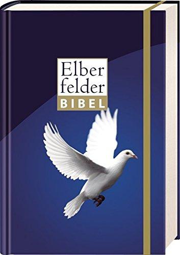 Elberfelder Bibel 2006: Taschenausgabe Motiv Taube, mit Gummiband