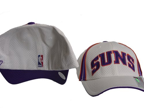 Phoenix Suns NBA Swingman Stretch Fit Suns White Cap/Hat