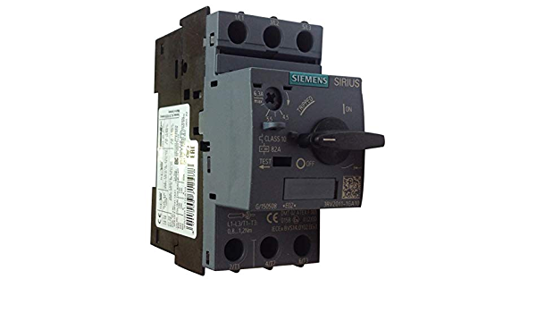 Siemens 3RV2011-1GA10 Nuevo