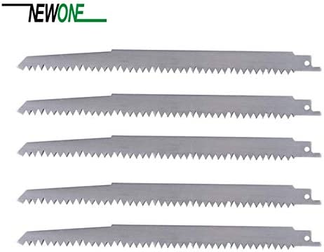 Maslin Stainless Steel Big Teeth Saw Blades 240mm Multi Cutting for Wood, Frozen Meat, Bone on Reciprocating Saw Power Tools Accessory - (Color: 5 pcs) - - Amazon.com