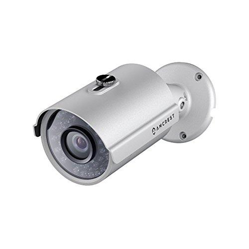 Amcrest HDSeries Outdoor 1.3 Megapixel 960P POE Bullet IP Security Camera – IP67 Weatherproof, 1.3MP 960P (1280 TVL), IPM-743E (Silver) (Certified Refurbished)