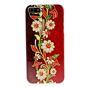 Flower Pattern Hard Case for iphone 4s