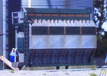 Walthers Cornerstone Grain Dryer
