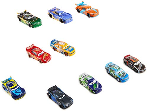 - Disney FTX82 Pixar Cars DIE-CAST VEHICLES, 10 Pack, Multi Color