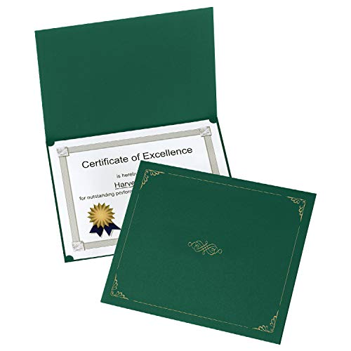 Most Popular Award Certificate Covers