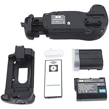 DSTE Replacement for Pro IR Remote MB-D14 Vertical Battery Grip 2X EN-EL15 Compatible Nikon D610 D600 SLR Digital Camera