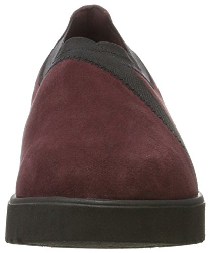 Clarks Bellevue Ceder Slipper Rood (bordeaux)