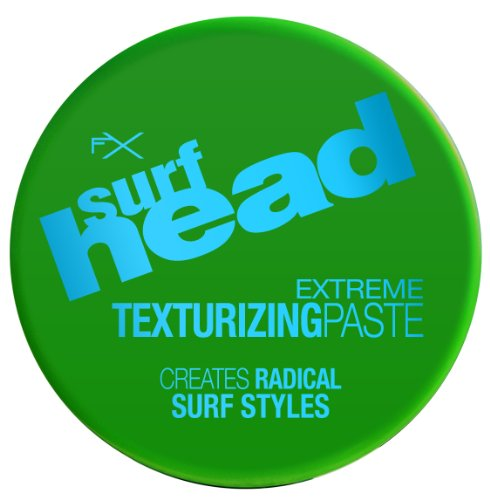FX Surf Head Extreme Texturizing Paste (4 oz); Lightweight and Pliable Hair Paste for All Day Control; Create Radical Surf Style (Styling Head Wax)