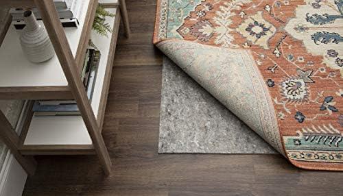 Amazon Com Mohawk Home Dual Surface Felt And Latex Non Slip Rug Pad 1 4 Thick 12 X15 Brown Furniture Decor