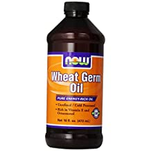 Wheat Germ Oil Liquid by NOW - 16 oz