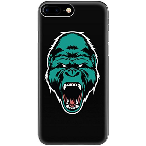 Gorilla Angry Hairy Creature Nice Look Awesome Design - Phone Case Fits Iphone 6 6s 7 8