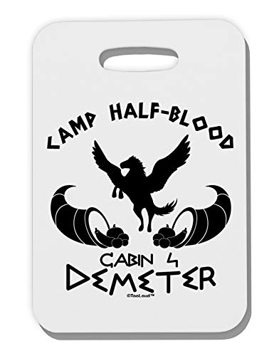 ter Camp Half Blood Thick Plastic Luggage Tag ()