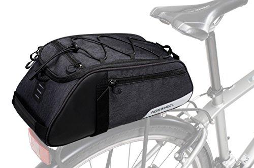 Roswheel Essentials Series 141466 Bike Trunk Bag Bicycle Rear Rack Pack Cycling Accessories Pannier 8l Capacity