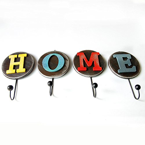 Amazon.com: Blue Stones Creative Home Decor Letter Pattern ...