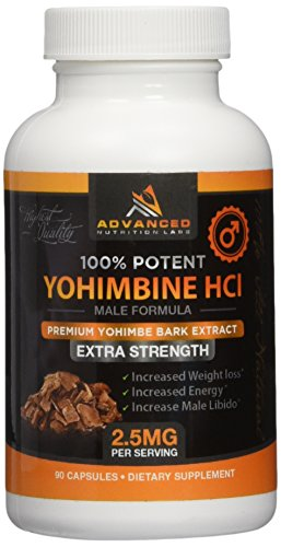 Yohimbine HCl 2 5 Capsules Supplement product image
