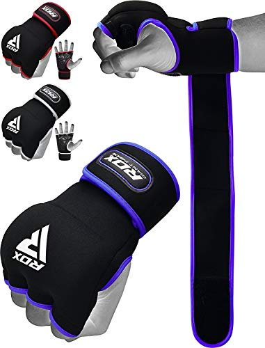 RDX Hand Wraps Boxing Inner Gel Gloves MMA Fist Protector Muay Thai Fist Bandages Padded Mitts