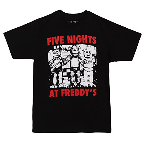 Five Nights At Freddy's Group Shot Adult T-Shirt