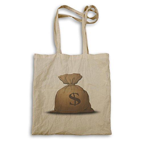 Geld-schlechte Dollar-Bargeld-nur Geschenk Tragetasche e953r