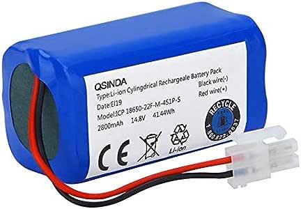 Gaoominy 14.8V 2800Mah Batería de Repuesto para Robot Aspiradora ...