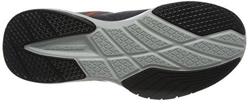 Uomo Running Scarpe TR Locust Burst Orange Skechers Charcoal Grigio wXZU7zAxq