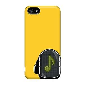 New Design Shatterproof XMTfH15389ChdbU Case For Iphone 5/5s (daft Punk 2)