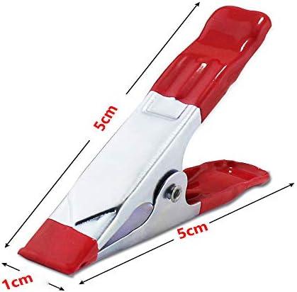 5 ピース電話タブレット液晶デジタイザ画面固定修復ツール金属スプリングクランプ 2