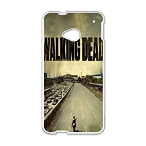 HTC One M7 phone cases White The Walking Dead Phone cover KLW4132957