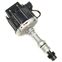 Pertronix D1170 Flame-Thrower Race Distributor HEI with Black Cap for Oldsmobile V8